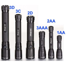 Series Design Aluminum Alloy Xpg R5 5W 3D, 2D, 3c, 2c, 3AAA, 2AA 1AA Powerful Flashlight (LM-00)