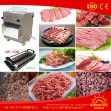 Cortadora automática de la carne de la cabra de la cortadora de la tira de la carne