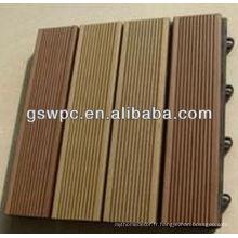 ECO respectueux de l'environnement Parquet de qualité WPC DIY fabriqué en Chine