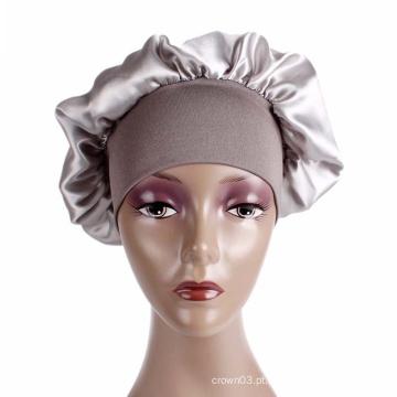 hijab acessório de cabelo em branco turbante chapéu bandanas boné
