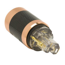 Power Plugs with High-quality, Gold-plated and Mirror-polished Surface, Anti-interference Shell