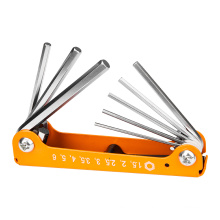 DingQi 8pcs hand tool hex key wrench set