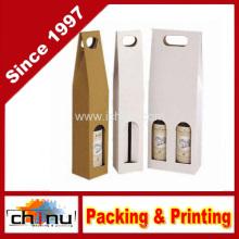 Saco de papel personalizado do vinho do OEM (2334)