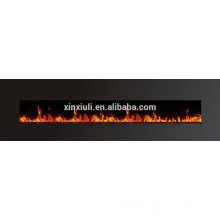 WF-1594 94-inch Log fuel effect tempered glasdd adjustable flame electric fireplace wall mounted