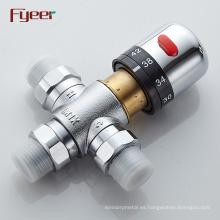 """LinBo Guten DN15 1/2 """"válvula de mezcla termostática válvula de radiador de latón niquelado"""
