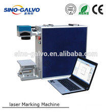 Laser marking machine with ipg or raycus mopa