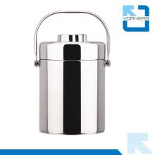 Pot de fumée isolé avec poignée et double paroi aspirateur Boîte à lunch