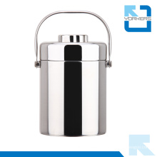 Insulated Smoldering Pot with Handle & Double Wall Vacuum Lunchbox