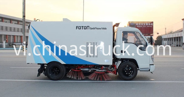 mini vacuum sweeper truck