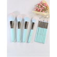 Personnaliser les pinceaux de maquillage de luxe Private Label Green