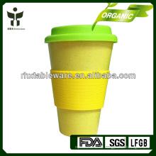 100% natürlicher Bambusfaserbecher