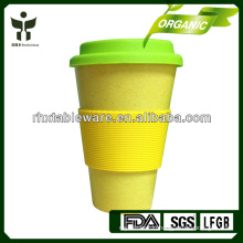 100% natural bamboo bamboo coffee mug