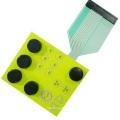 2020 nova membrana teclado de borracha de silicone