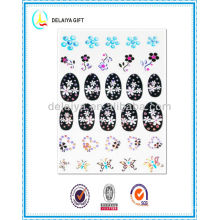 2013 new fashion hot nail sticker/nail art product