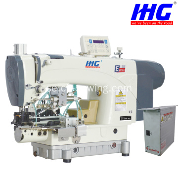 IH-639D-5H / 7H Lockstitch Direct Drive Botten Hemming Machine