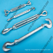 U. S. Type Drop Forged Wire Rope Turnbuckle Jaw&Jaw