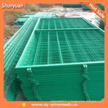 Ограждение из проволочной сетки / забор из проволочной сетки (производство)