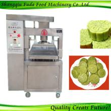 Bolo de pó de arroz glutinoso, máquina de moldar em pó de chá verde