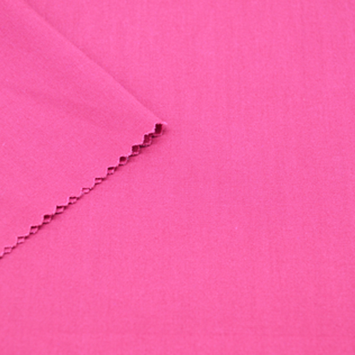 Polyester Cotton Hot Pink Fabric
