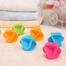 Soft Octahedral Laundry Washing Ball Reusable Washer Colorful Dryer