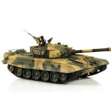 1/24 escala de control remoto infrarrojo juguetes de tanque