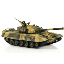 1/24 escala de controle remoto infravermelho tanque de brinquedos