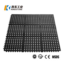 Factory Custom Interlocking Kitchen Deck Rubber Drainage Non Slip Mat