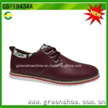 Zapatos ocasionales cómodos de la venta caliente de los nuevos hombres del estilo