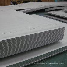 Feuille et plaque en aluminium pour plaque d'expédition