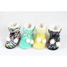 high quality quiet indoor slipper new design kids slippers