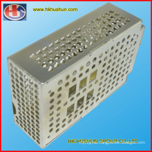High Precision Panel Beating Metal Box, Sheet Metal Fabrication with Zinc Plating (HS-SM-001)
