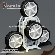 Discount Price Pet Film for Display Rack wheel display stand for sale export to Mongolia Exporter