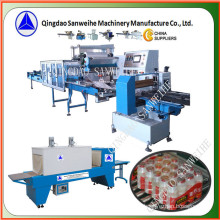 (wider film) Collective Bottles Secondary Shrink Packing Machine