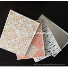 PVC-laminierte Gips-Deckenfliese