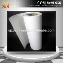 opaque white mylar polyester film