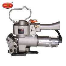 Machine de cerclage pneumatique de ceinture de pp portative, machine de ceinture de cerclage de polyester