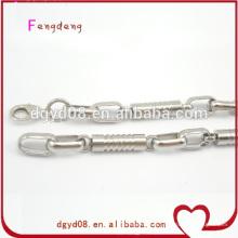 Fabricant de bijoux de chaînes en acier inoxydable