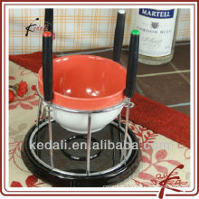 ceramic fondue serving set