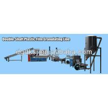 Máquina de granulación de reciclaje de plástico de residuos de ciclo de agua
