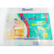 Pe Flexible Packaging Bag For Baby Diaper , Colorful Printed Packaging Bag