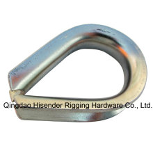 Stainless Steel/E. Galvansized Wire Rope Fitting G411 Thimble