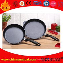 Long Handle Enamel Frying Pan