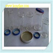 Tarro de cristal del almacenaje para la cocina