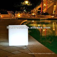 Modische Acryl konkurrierende LED-Würfeltabelle