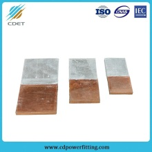 OEM for Aluminum Copper Alloy Fitting AI-CU Transition Plate For Substation Fitting supply to Ireland Wholesale