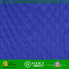 Tissu de point matelassé pour vêtements chauds ou doublure