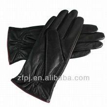 korean fashion style sheepskin leather glove