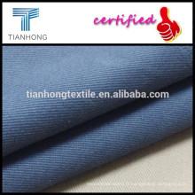 tissé couleur bleue technic 95 5 sergé spandex tissu stretch coton lycra pour pantalons ou jeans skinny