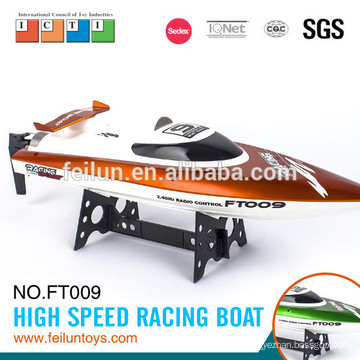 2.4G R/C boat water cooling high speed water racing boat with double waterproof shell CE/FCC/ASTM certificate