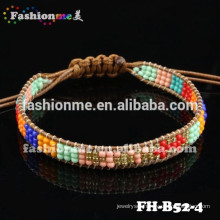 Fashionme small beads wrap fashion bracelet